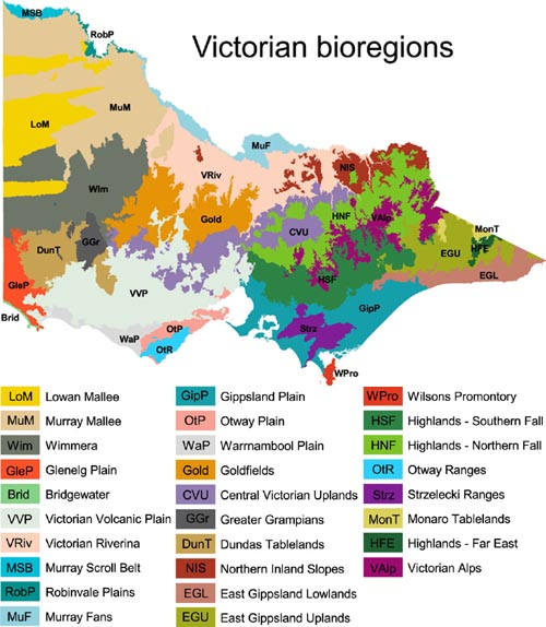 Image: Bioregion Map
